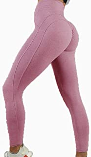High Elastic Yoga Pants Women Sport Leggings Tights Slim Running Sportswear Solid Ladies Quick Drying Training Fitness Tro...