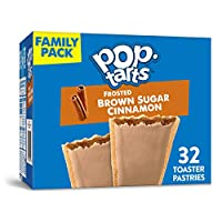 Pop-Tarts, Frosted Brown Sugar Cinnamon, 32 Count, 56.40 Ounce by Pop-Tarts