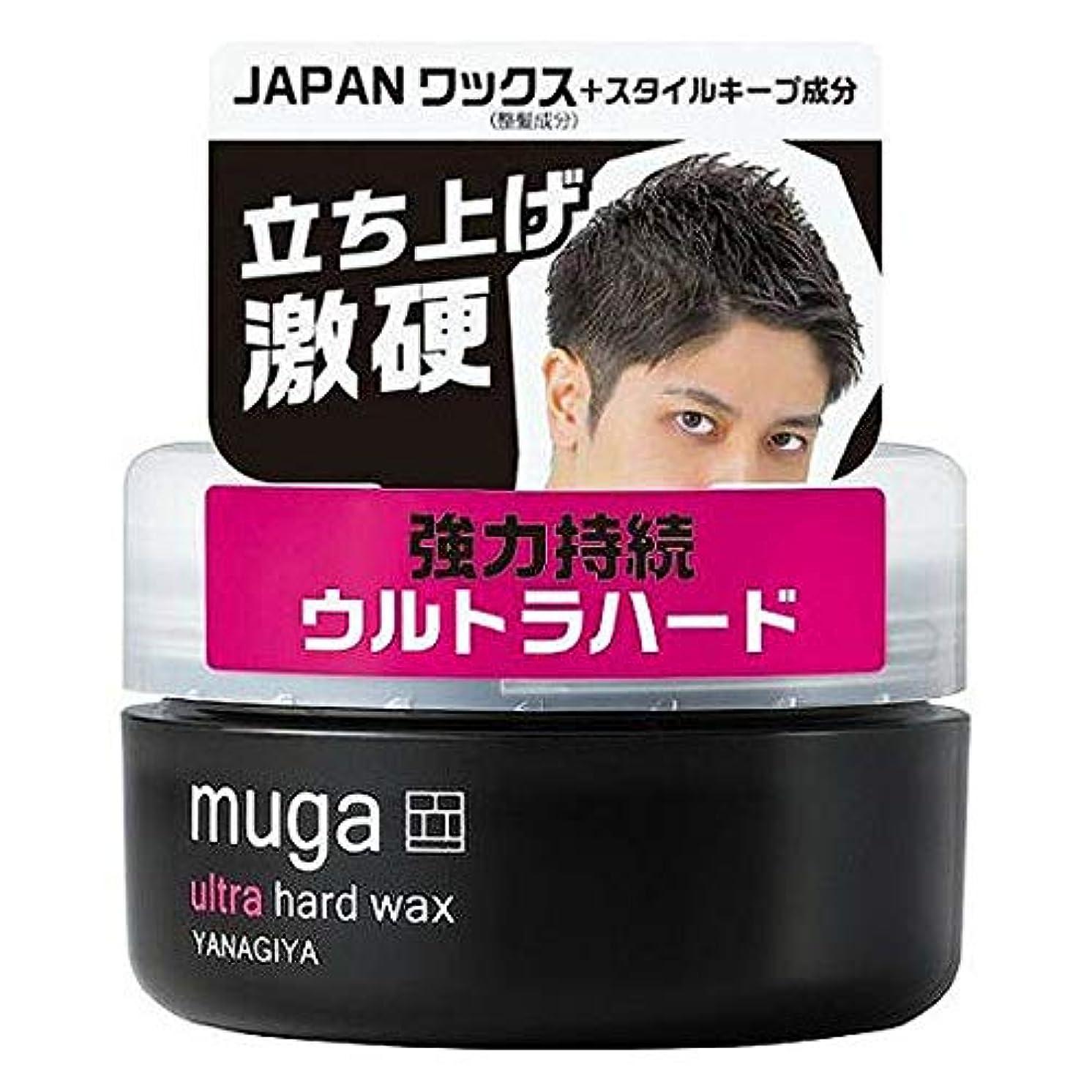 活性化する模索ペニー【柳屋本店】MUGA ウルトラハードワックス 85g