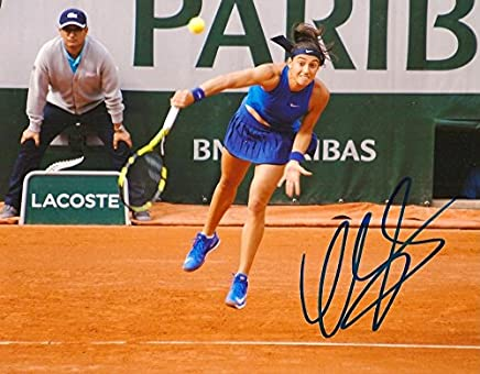 TOP TENNIS PLAYER Caroline Garcia autograph, IP signed photo