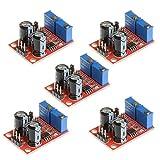 DollaTek 5Pcs NE555 Módulo de Ciclo de Trabajo de frecuencia de Pulso Módulo Ajustable Generador de señal de Onda Cuadrada