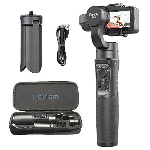 Hohem iSteady Pro 3-Axis Handheld Gimbal Stabilizer for Gopro Hero 2018/6/5/4/3+/3, Yi Cam 4K, AEE, SJCAM Sports Cams Action Camera