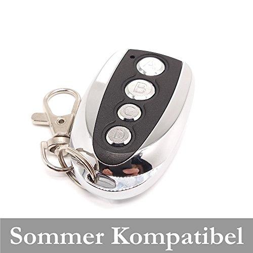 SOMMER 4031V0000   4026V0000 Garagentorantrieb Handsender Ersatz - 4-befehl Fernbedienung 868 Mhz, Key Fob