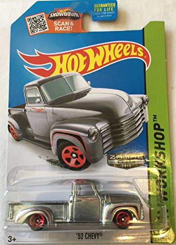 HOT WHEELS HW WORKSHOP ZAMAC 2015 SHOWDOWN SCAN & RACE! '52 CHEVY 244/250 by Hot Wheels