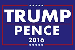 Donald Trump Mike Pence President 2016 Campaign Cool Wall Decor Art Print Poster 24x36