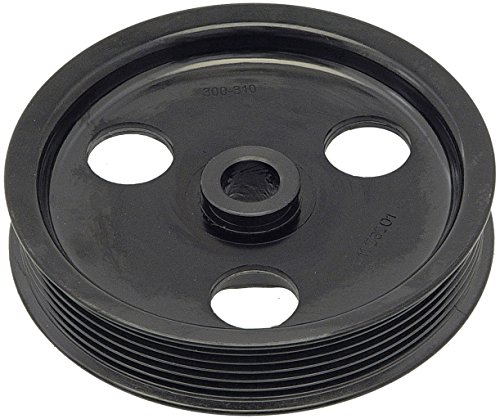 Dorman 300-310 Power Steering Pump Pulley for Select Dodge / Jeep Models, Black