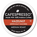 CAFESPRESSO Hazelnut Blend for K Cup Keurig 2.0 Brewers, 80Count, Medium Roast Single Serve Coffee Pods, 80Count (Packaging May Vary)
