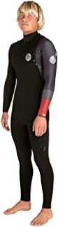 Rip Curl Mens E-Bomb 2mm Zip Free Wetsuit Black/Red WSM8US
