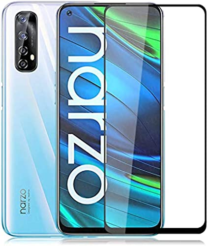 Prime Retail 5D Tempered Glass For Narzo 20 Pro Black
