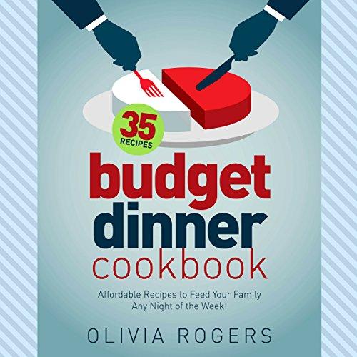 Budget Dinner Cookbook audiobook cover art