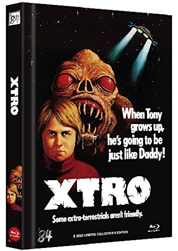 X-Tro - Uncut/Limited Collector's Edition/Mediabook (+ DVD) (+ CD-Soundtrack) [Blu-ray]