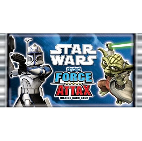 Force Attax Star Wars Trading Booster Card (englisch) (Preis gilt pro Booster)
