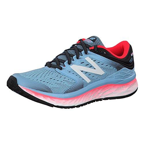 New Balance 1080v8, Zapatillas de Running para Mujer, Azul (Clear Sky/Vivid Coral/Black Clear Sky/Vivid Coral/Black), 39 EU