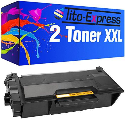 Tito-Express Platinum Serie 2 Toner cartridges XXL compatibel met Brother TN3480 DCP-L5500DN DCP-L6600DW HL-L5000D HL-L5100DN HL-L5100DNT HL-L5100DNTT HL-L5100 HL-L5200DW HL-L5200DWT HL-L5200