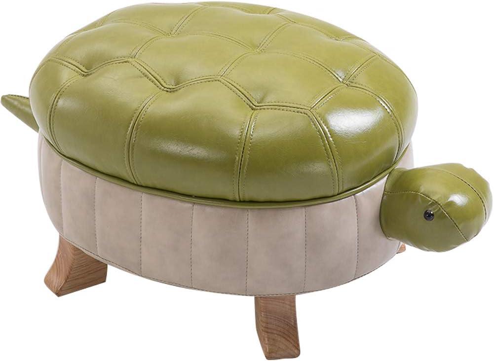 Kelendle Animal Footstool Turtle PU Upholstered Tulsa Mall Fresno Mall Ottoman Leather