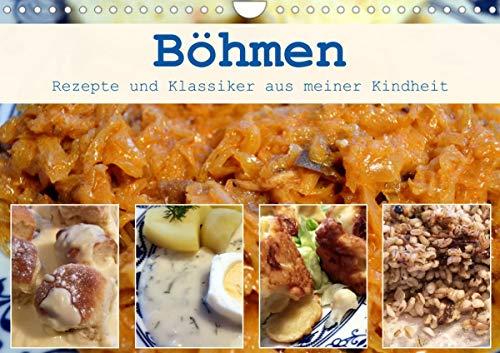 Böhmen - Rezepte und Klassiker aus meiner Kindheit (Wandkalender 2021 DIN A4 quer)