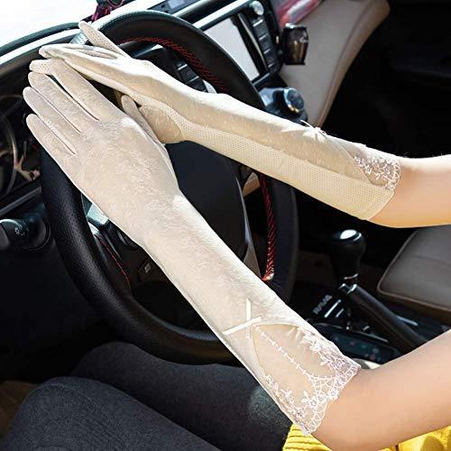 Guantes de conducción para mujer táctiles para moto, bicicleta, ciclismo, coche, delgado,...