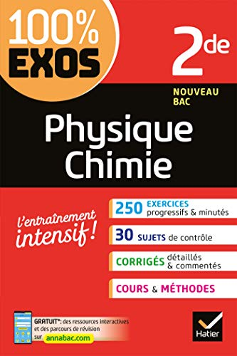 Physique-Chimie 2de : Exercices résolus - Seconde (100% Exos)