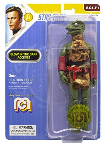 Mego Star Trek TOS Action Figure Gorn (Glow in The Dark) 20 cm Figuren