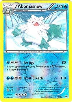 Pokemon - Abomasnow  40/162  - XY Breakthrough - Reverse Holo