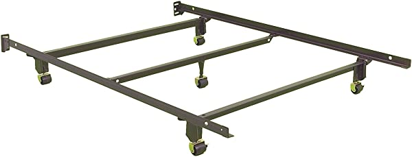 Leggett Platt Consumer Products Group Inst A Matic Bed Frame With Rug Rollers Full