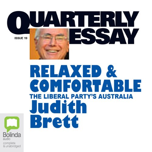 Quarterly Essay 19 audiobook cover art