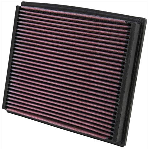K&N 33-2125 Motorluftfilter: Hochleistung, Prämie, Abwaschbar, Ersatzfilter, Erhöhte Leistung, 1994-2009 (A4, A6, RS4, S4, S6, I, Allroad Quattro, Passat, Superb)