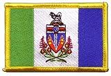 Flaggen Aufnäher Kanada Yukon Fahne Patch + gratis
