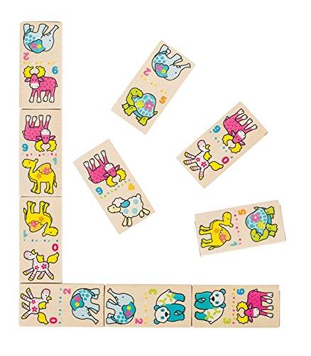 Goki- Juegos familiaresDominóGOKIDominó, mis Amigos, Susibelle, Multicolor (28)