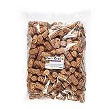 Cork Crafts Tappi di Sughero, 250 Tappi di Vino, Naturale 24 mm x 45 mm, Tappi per Il Bricolage...