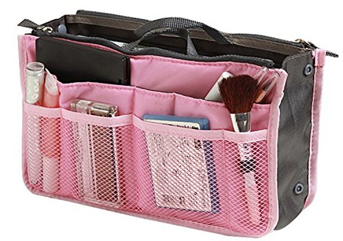 TheWin - Organizador de bolso para viaje rosa Pink rectangle 1X