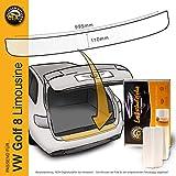 Lackschutzshop – Pellicola protettiva per la vernice adatta per VW Golf 8 / VIII Limousine (tipo CD a partire dall'anno di costruzione 2020, tutti i modelli incl. GTI, GTE ecc.) – trasparente 150µm