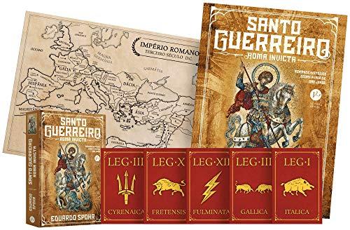 Santo Guerreiro. Roma Invicta (Volume 1) - Acompanha Pôster, Mapa e Cards
