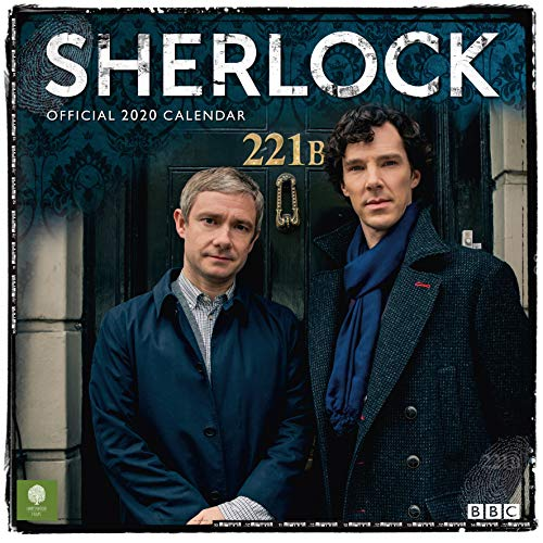 Sherlock - 2020 Official Square Wall Format Calendar