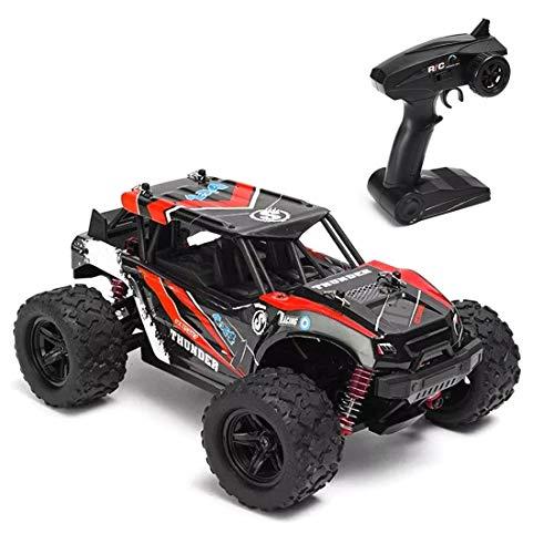 Batop Coche teledirigido 1:18 4WD RC Off-Road Buggy 36 km/h de alta velocidad, todoterreno teledirigido con cuerpo a prueba de explosión, para adultos y niños