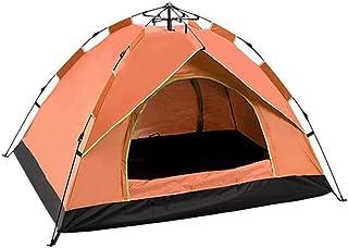 Kupoltält, bärbart automatiskt pop-up omedelbart tält, 3-4 man familjecamping och vandring markis tält - vattentätt och U...