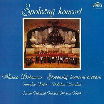 Joint Concerto: Corelli, Händel, Krček, Plánický, Michna (Live)