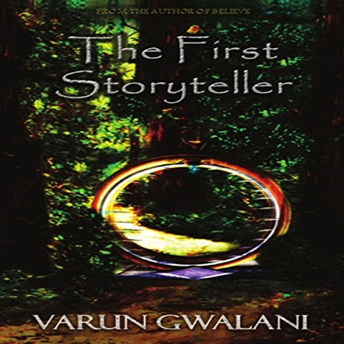 The First Storyteller audiobook cover art