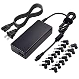 Aisilk Laptop AC Adapter Replacement 90W Universal Power Charger for Dell hp Samsung Acer Sony Asus Lenovo Thinkpad Gateway Fujitsu Notebook Computer Chromebook W/18.5V 19V 19.5V 20V Output