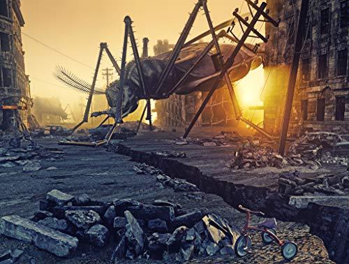 Rompecabezas Adulto 1000 Piezas Mosquitos Gigantes En La Ciudad Juguete De Regalo Ideal La Mejor Decoración Para El Hogar De Bricolaje 75x50cm(29.5x19.7 pulgadas)