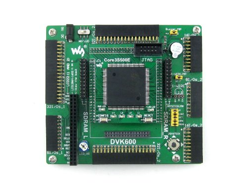 Waveshare XILINX Spartan-3E XC3S500E XILINX FPGA Evaluation Development Board + XC3S500E Core Board Kit