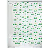 InterDesign 26280EU Frogs Duschvorhang