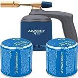 CAMPINGAZ - Set soplete gas soldador PT2000 Campingaz + Cartuchos gas perforable C206 190grs Campingaz Kabra