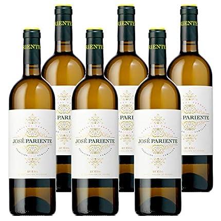 Vino blanco José Pariente Verdejo - 6 botellas 75cl - D.O. Rueda