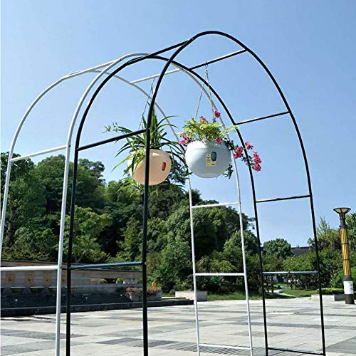 Garten Bogen, Rosenbögen Metall, Blumenbogen-Rahmen, Pflanze Klettern Torbogen Eisen Wetterfeste Unterstützung Dekoration Für Hochzeit Garten Dark Green