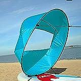 VGEBY Downwind Paddle,Kayak Wind Sail Paddle 42 pollici Kayak Canoa Accessori Compatto e Portatile ( Colore : Blu )