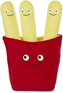 Balvi Cojín Friend Chips Color Amarillo Cojín en Forma Paquete de Patatas Fritas y Patatas de Restaurante de Comida rápida Se Pueden Separar Cojín cómodo y extrasuave Poliéster 50x30 cm