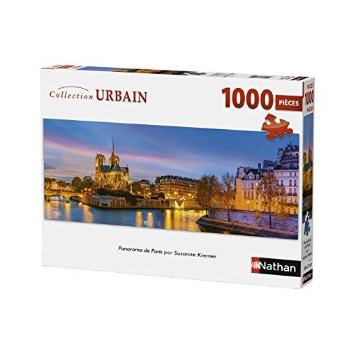 Nathan Puzzle Paris Kremer 1000Piezas Panorama, 87577