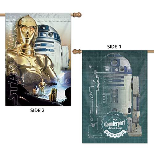 Wincraft Star Wars - Bandera Vertical (28 x 40 Pulgadas)