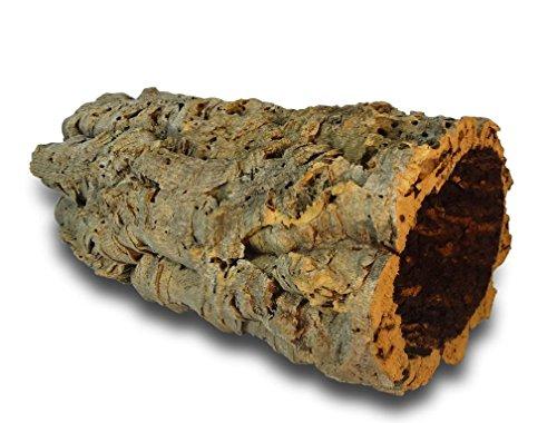 Kork-Deko Korkrinde | Korkröhre | Korktunnel | Baumstammtunnel | gereinigt & desinfiziert ca. 30 cm lang , Ø = 11-14 cm (Innen-Durchmesser)